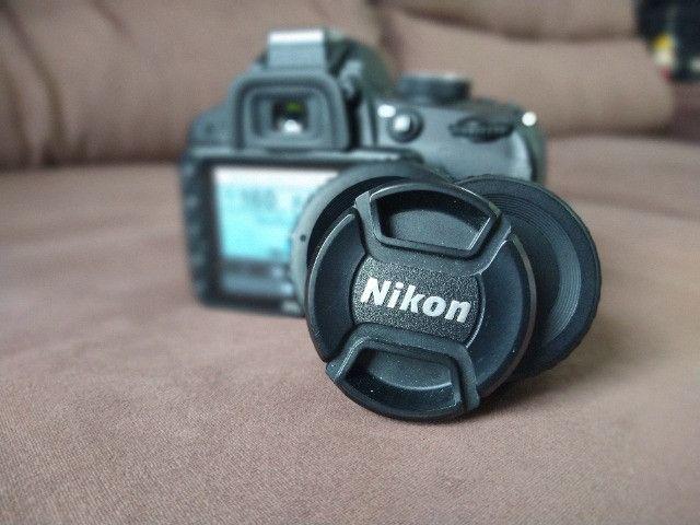 Câmera Nikon 3200 + Lente 55-200 - Foto 6