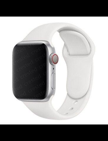 Pulseira de silicone macio Apple watch 42 mm - 44 mm - Foto 3