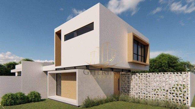 Sobrado Moderno com arquitetura exclusiva com 3 dormitórios sendo 1 suíte, à venda, 150 m² - Foto 2