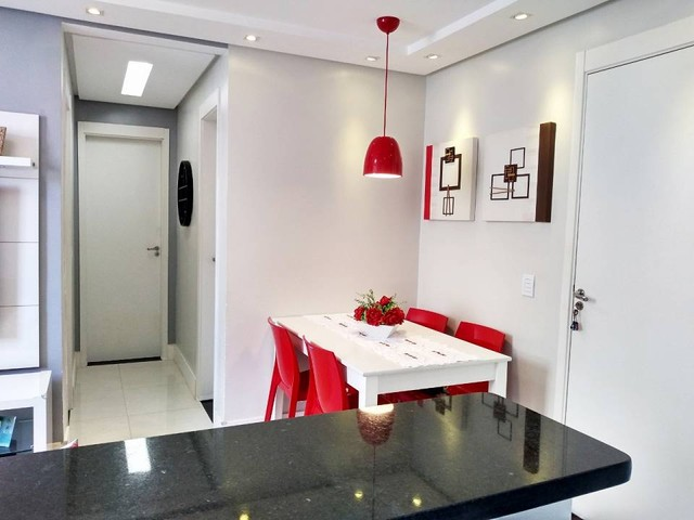 OPORTUNIDADE - Lindo apartamento 2 quartos com suíte - Armários planejados em Abrantes, Ca - Foto 7