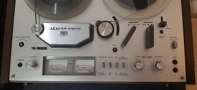 Gravador AKAI GX-4000D - Foto 4