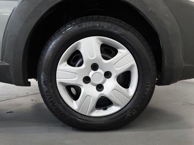 Fiat Strada Hard Working Cab. Estendida 1.4 Flex 2p Cinza - Foto 9