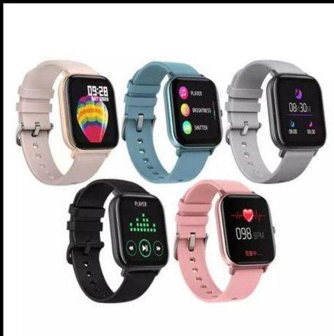 relógio smartwatch inteligente fitness android - Foto 4