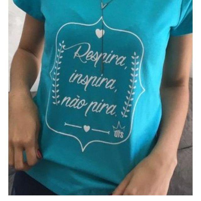 T-shirts - camisetas femininas - Foto 2