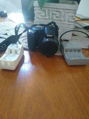 Vendo Câmera Semi Profissional Nikon - Foto 5