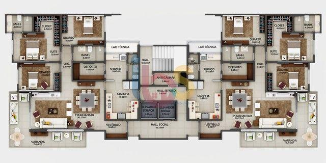 Vendo Apartamentos 3/4 no Residencial Diplomata - Centro - Itabuna/BA - Foto 9