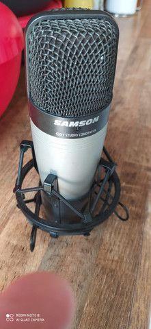 Microfone Condenser Samsom C01 Studio - Foto 3