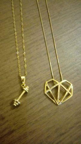 Colares Banhado a ouro Por: R$ 50,00 - Foto 2