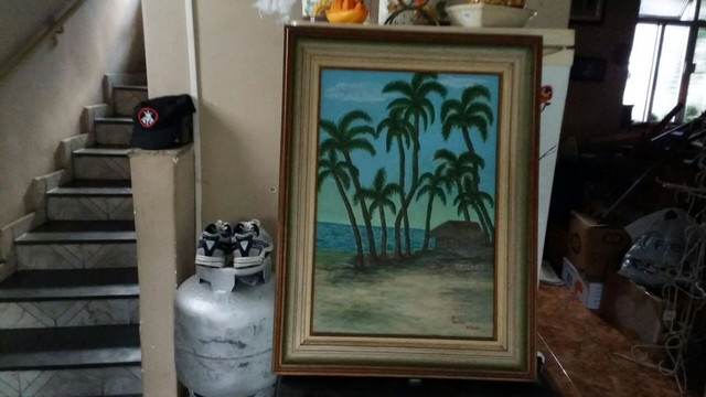 Quadro pintado a tinta  óleo.  - Foto 2