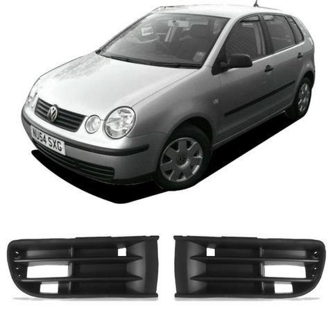 Grade Sem Furo Farol Milha Parachoque Dianteiro p/ VW Polo a partir 2003 a 2006
