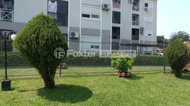 Apartamento à venda com 2 dormitórios em Jardim algarve, Alvorada cod:170030