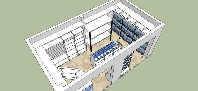 Montamos e planejamos sua loja (projetos especiais para quem tem pouco espaço)