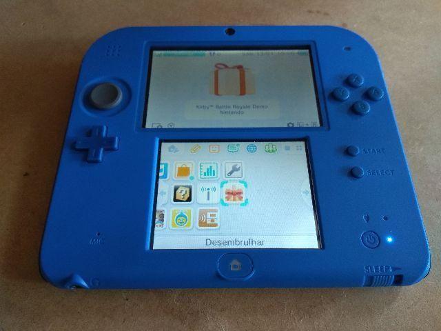 Nintendo 2DS - azul