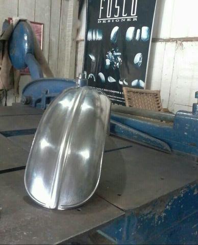 Paralama bobber 16x80cm customização