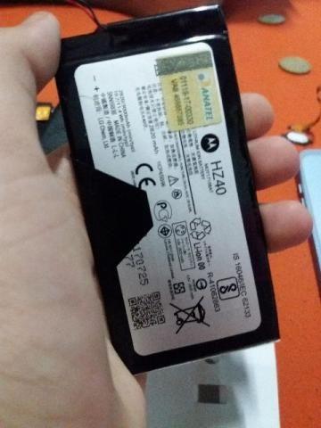Bateria Original Moto Z2 Play - 2 meses de uso