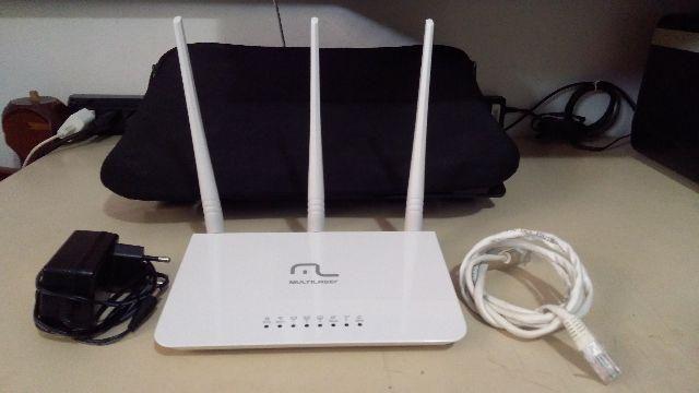 Roteador 3 Antenas Multilaser RE163