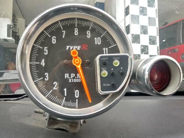 Conta giro Type R com shift light
