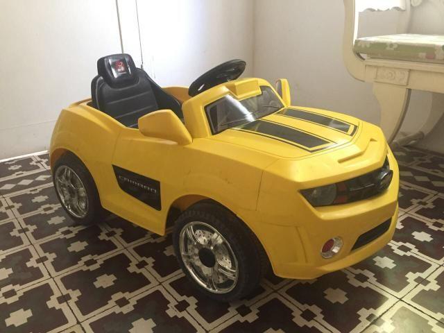 Carro Elétrico CAMARO - brinquedo bandeirante
