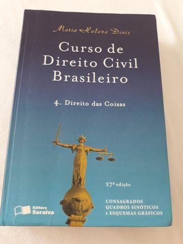 Livro Curso de Direito Civil Brasileiro - Direito das Coisas