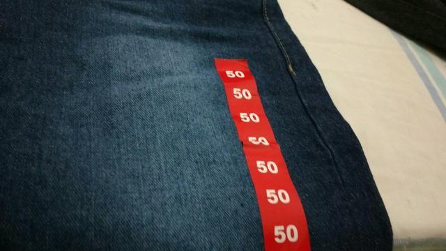 Vendas calça nunca usadas são duas tamanho 50 mais são de forma pequena