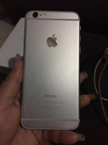 IPhone 6 16 gigas com NF carregador chave na caixa