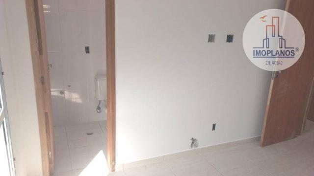 Apartamento com 2 dormitórios à venda, 72 m² por r$ 322.000 - canto do forte - praia grand - Foto 11