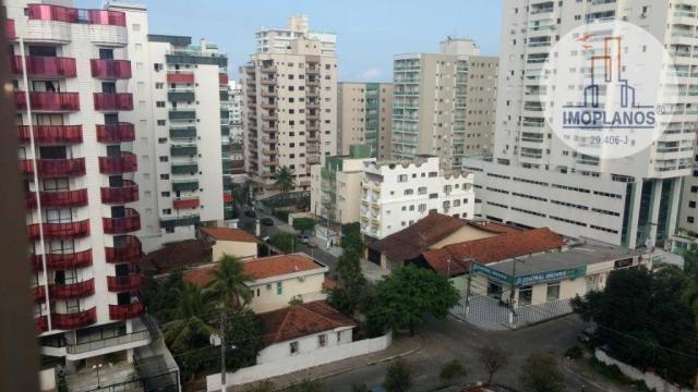 Apartamento com 2 dormitórios à venda, 72 m² por r$ 322.000 - canto do forte - praia grand - Foto 4