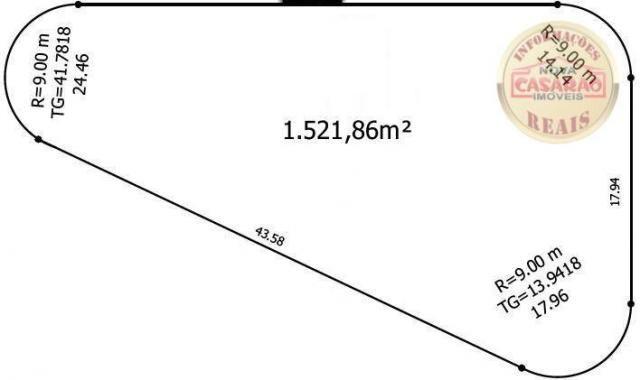 Terreno à venda, 1521 m² por R$ 3.850.305,80 - Mirim - Praia Grande/SP - Foto 6