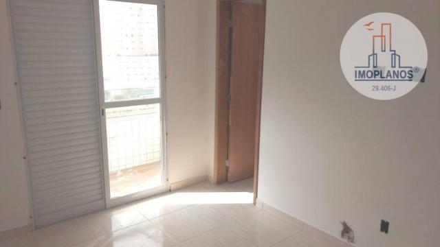 Apartamento com 2 dormitórios à venda, 72 m² por r$ 322.000 - canto do forte - praia grand - Foto 13