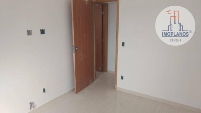 Apartamento com 2 dormitórios à venda, 72 m² por r$ 322.000 - canto do forte - praia grand - Foto 12