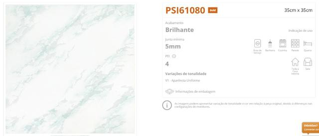 Piso Incenor 35x35 Tipo A
