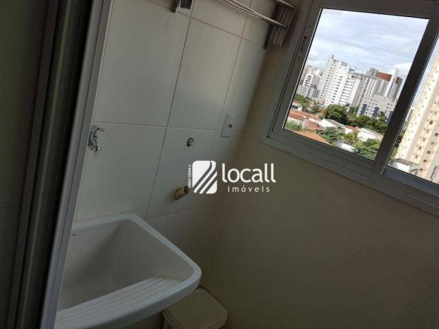Apartamento para alugar, 40 m² por R$ 1.500,00/mês - Vila Redentora - São José do Rio Pret - Foto 13