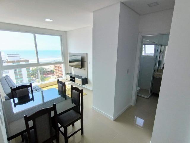 Disponível reveillon - virada, linda vista mar e serra, edifício novo, split - Foto 11