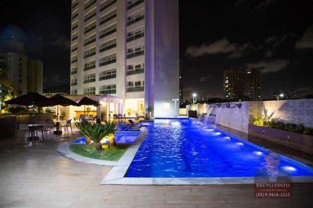 Apartamento com 3 dormitórios à venda, 110 m² por R$ 719.900,00 - Aldeota - Fortaleza/CE