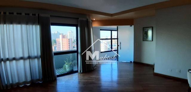 Cobertura com 4 suíte, para alugar, 395 m² por R$ 7.000/mês - Vila Valparaíso - Santo Andr - Foto 10