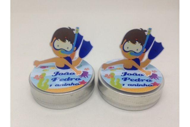 Latinha Personalizada 3D Aniversario R$ 0,55 - Foto 2