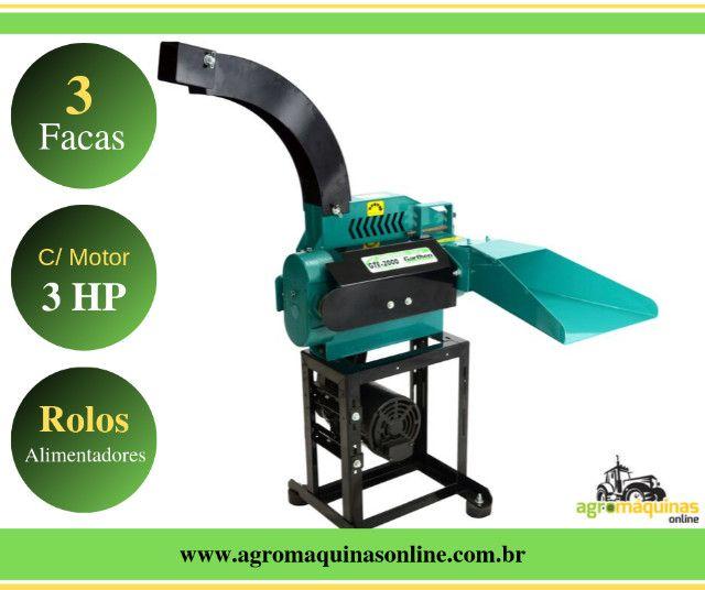 Promoção - Ensiladeira GTE-3000, com Motor 3cv - Agromaquinas Online