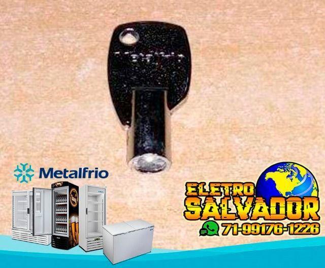 Chave P/ Freezer Horizontal Metalfrio Da550 Da420 Da302 Nova e Original