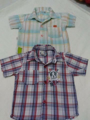 Camisas social semi novas - Foto 6