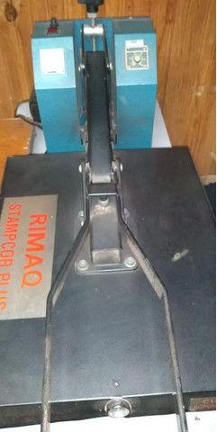 Máquina De Estampar Rimaq Stamp Cor Plus - Foto 2
