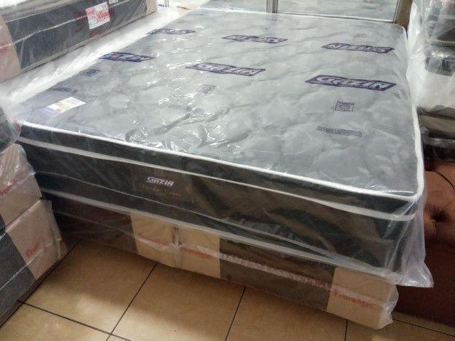 Cama box Queen Size Gazin - Foto 2
