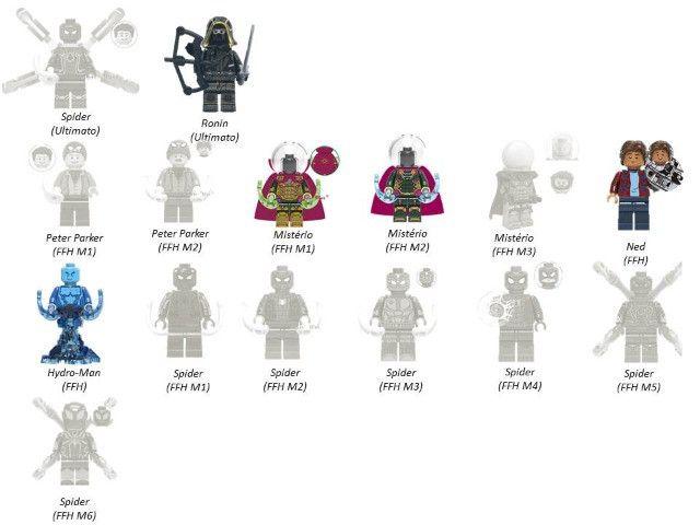 Minifigures (compatível com Lego) DC Marvel e Star Wars - Foto 3