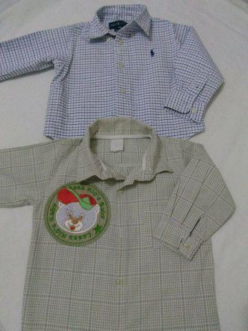 Camisas social semi novas - Foto 5
