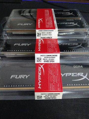 Kit Memórias DDR4 HyperX 16GB (4x4GB) 2666Mhz Desktop - Foto 3