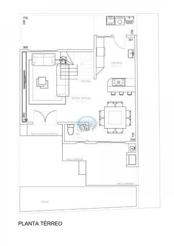 Casa de condomínio à venda com 3 dormitórios em Campo comprido, Curitiba cod:PAR74 - Foto 5
