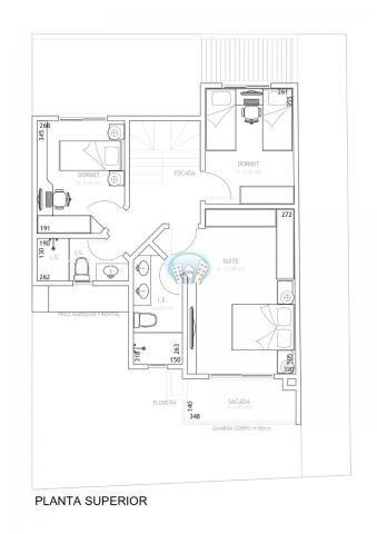 Casa de condomínio à venda com 3 dormitórios em Campo comprido, Curitiba cod:PAR74 - Foto 6