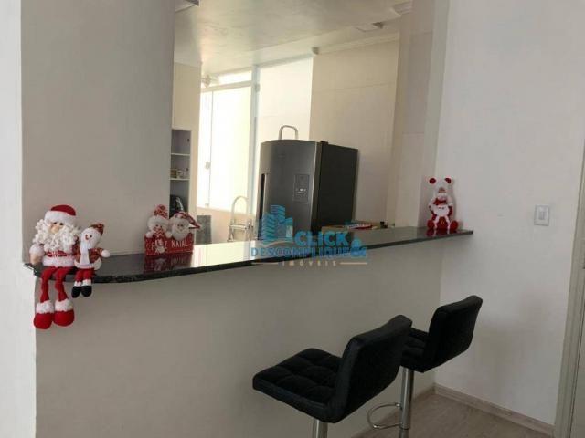 Apartamento com 3 dormitórios à venda, 110 m² por R$ 495.000,00 - José Menino - Santos/SP - Foto 5