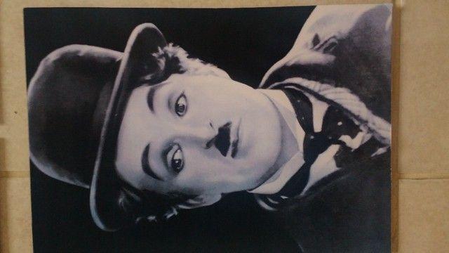 Placas decorativas Charles Chaplin