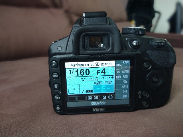 Câmera Nikon 3200 + Lente 55-200 - Foto 4
