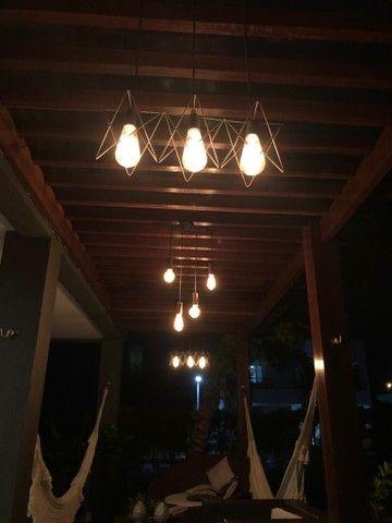 Luminária com lâmpadas de filamento - Foto 6